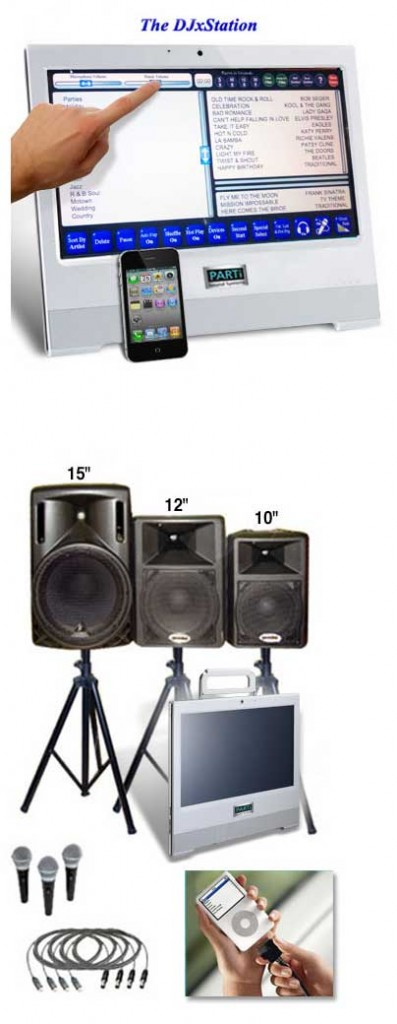 Rent the Parti Sound System, customized for your event